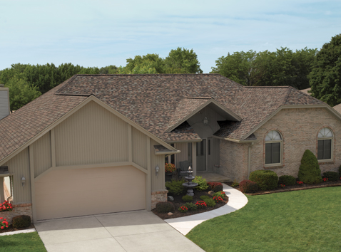 residential roofing home